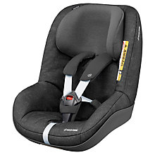 Buy Maxi-Cosi 2wayPearl i-Size Group 1 Car Seat, Nomad Black Online at johnlewis.com