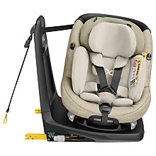 Buy Maxi-Cosi AxissFix Plus Group 0+ and 1 Car Seat, Nomad Sand Online at johnlewis.com