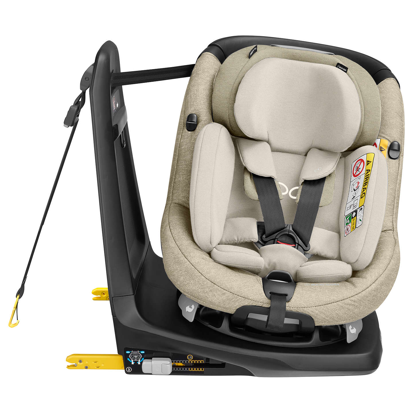 maxi cosi axissfix plus group 0 and 1 car seat nomad. Black Bedroom Furniture Sets. Home Design Ideas