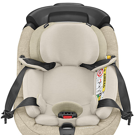 buy maxi cosi axissfix plus group 0 and 1 car seat nomad sand john lewis. Black Bedroom Furniture Sets. Home Design Ideas