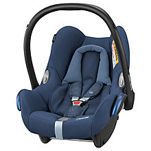 Buy Maxi-Cosi CabrioFix Group 0+ Baby Car Seat, Nomad Blue Online at johnlewis.com
