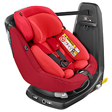 Buy Maxi-Cosi AxissFix Plus Group 0+ and 1 Car Seat, Vivid Red Online at johnlewis.com