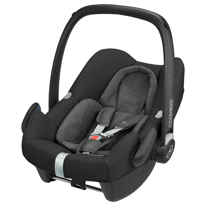 Maxi-Cosi Rock Group 0+ i-Size Baby Car Seat, Nomad Black at John Lewis