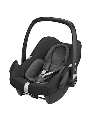 Maxi-Cosi Rock Group 0+ i-Size Baby Car Seat, Nomad Black