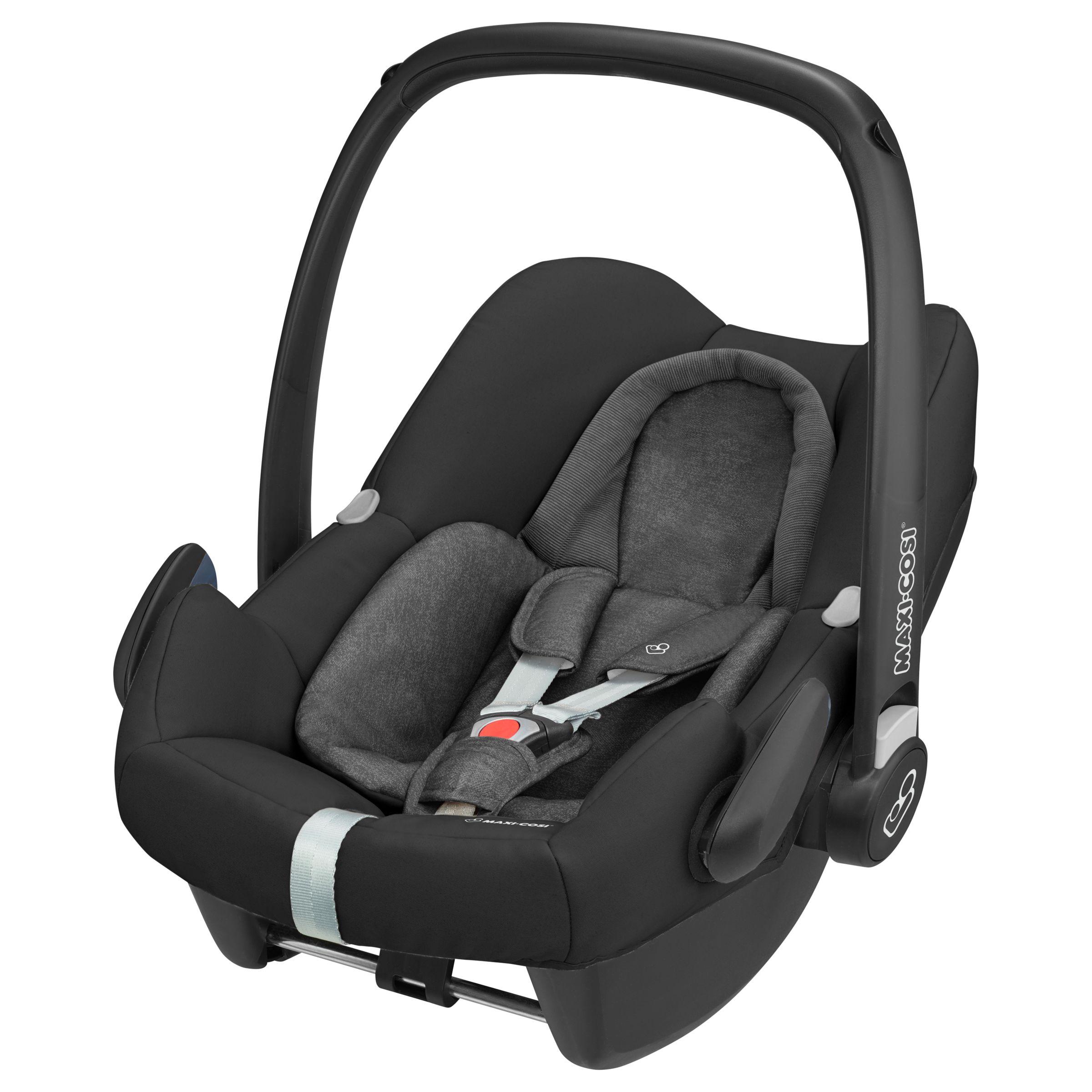 Maxi-Cosi Maxi-Cosi Rock Group 0+ i-Size Baby Car Seat, Nomad Black
