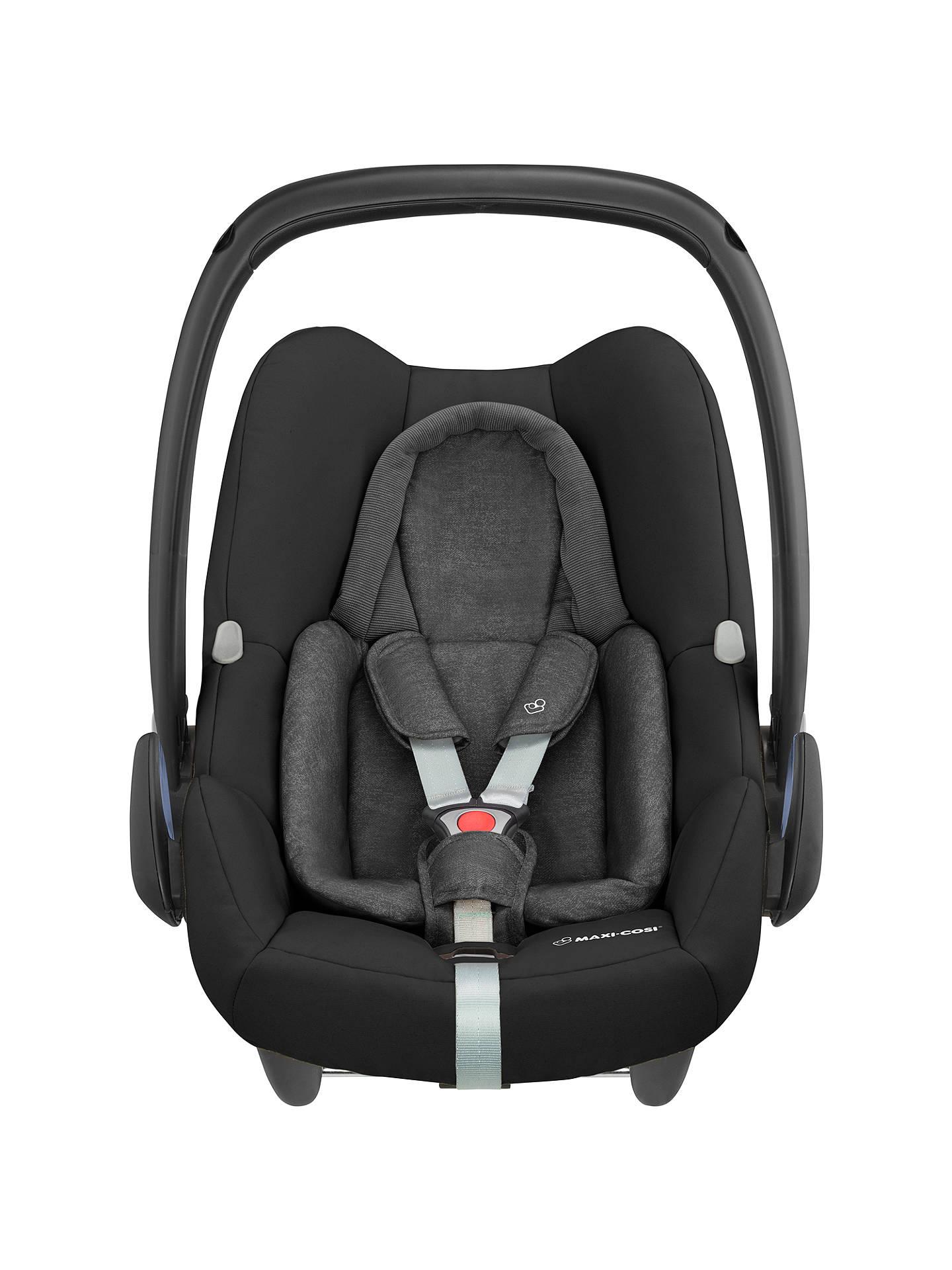 BuyMaxi Cosi Rock Group 0 I Size Baby Car Seat Nomad Black