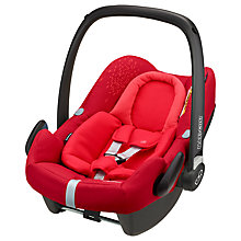 Buy Maxi-Cosi Rock Group 0+ i-Size Baby Car Seat, Vivid Red Online at johnlewis.com