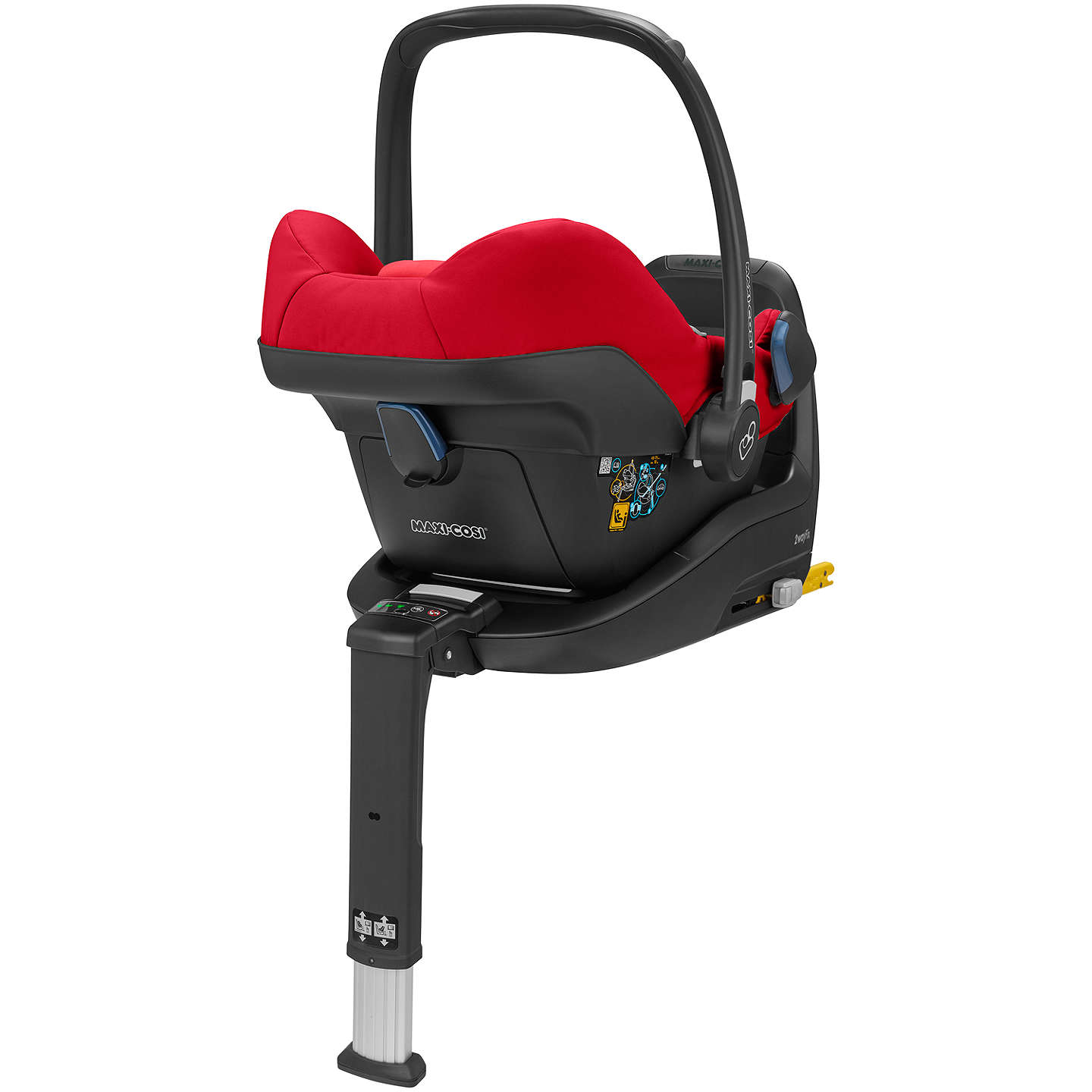 BuyMaxi-Cosi Rock Group 0+ i-Size Baby Car Seat, Vivid Red Online at johnlewis.com