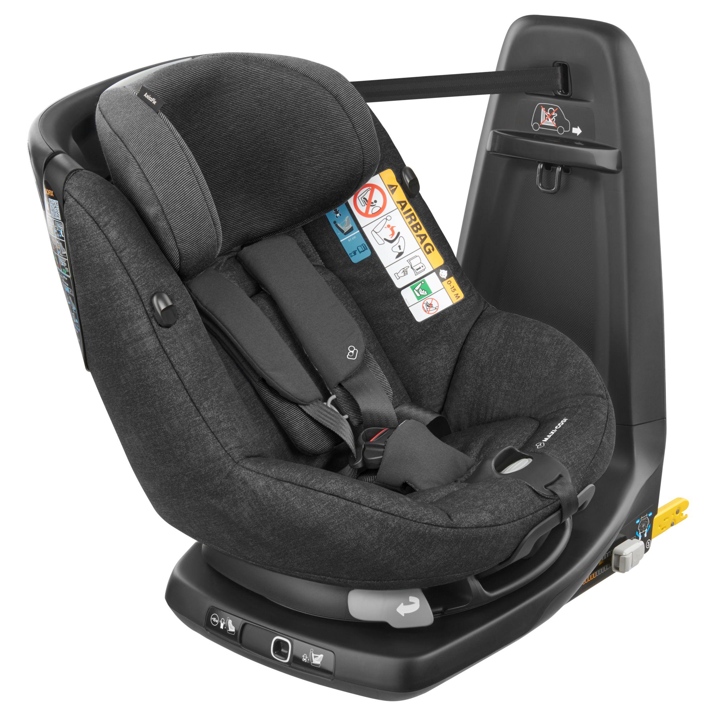 2fa00576be6 Maxi-Cosi AxissFix Group 1 i-Size Car Seat, Nomad Black at John Lewis &  Partners