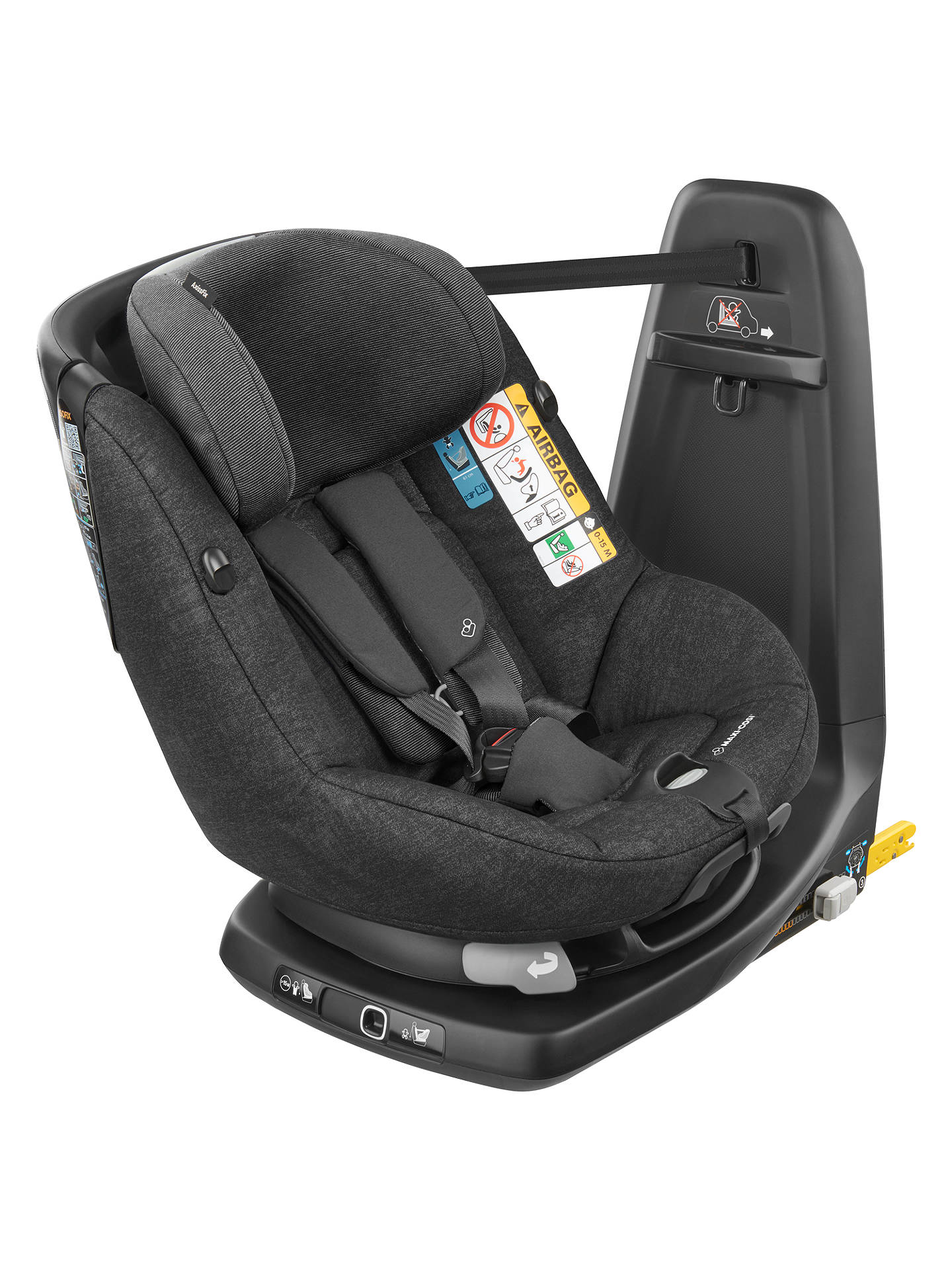Maxi Cosi Axissfix Group 1 I Size Car Seat Nomad Black At John