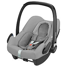 Buy Maxi-Cosi Rock Group 0+ i-Size Baby Car Seat, Nomad Grey Online at johnlewis.com