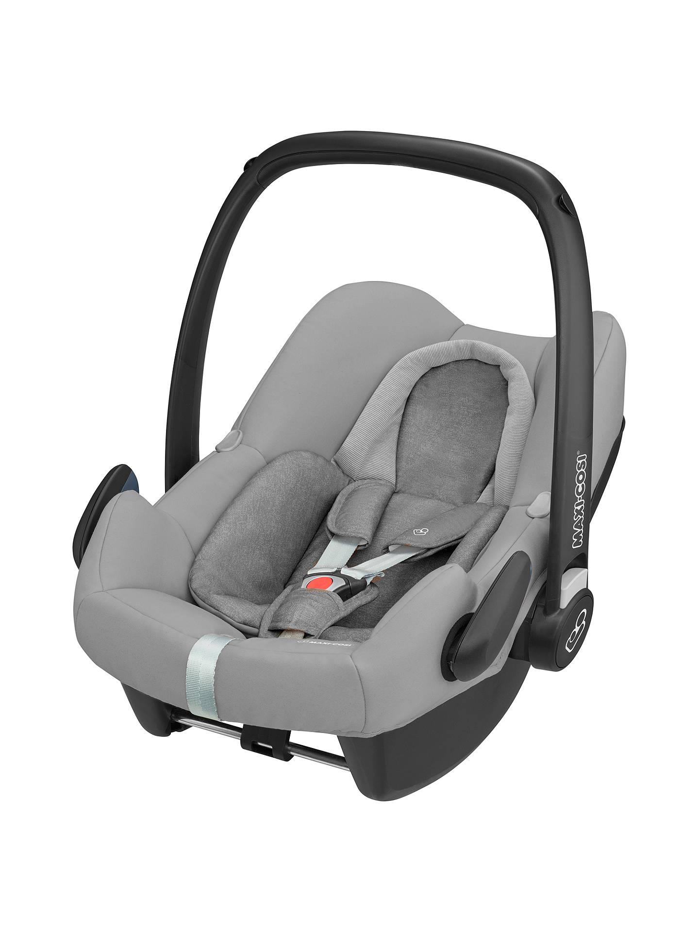 Maxi Cosi Rock Group 0+ I Size Baby Car Seat, Nomad Grey by Maxi Cosi