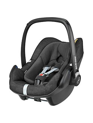 Maxi-Cosi Pebble Plus i-Size Group 0+ Baby Car Seat, Nomad Black