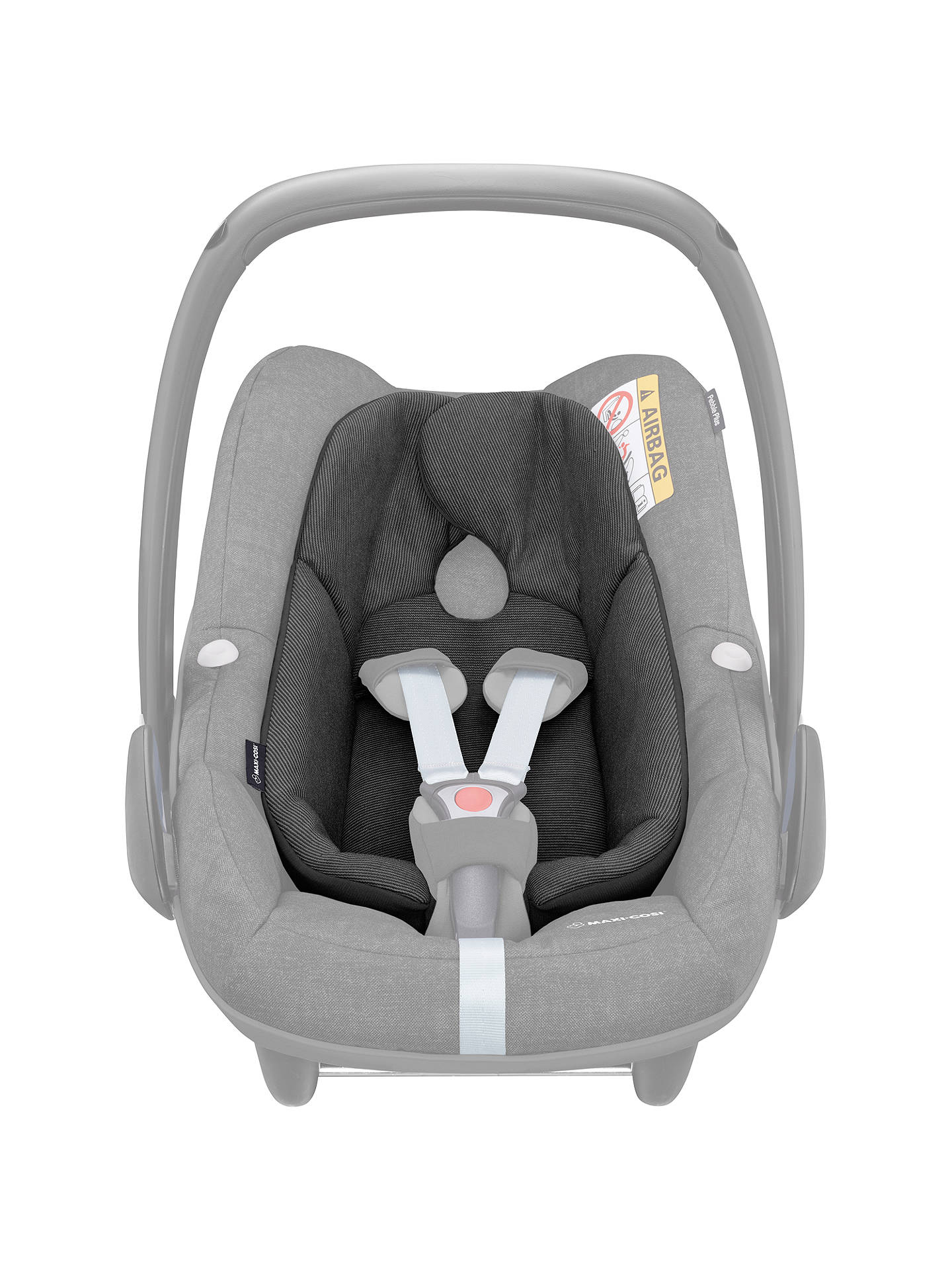 Buy Maxi-Cosi Pebble Plus i-Size Group 0+ Baby Car Seat, Nomad Black Online at johnlewis.com