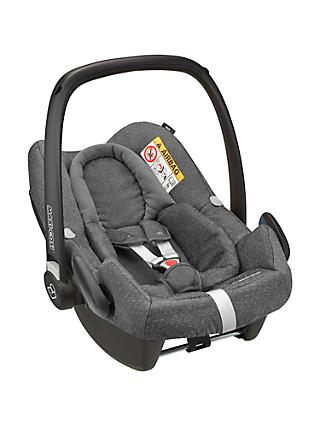 Maxi-Cosi Rock Group 0+ Baby Car Seat, Sparkling Grey