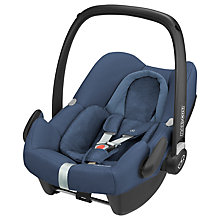 Buy Maxi-Cosi Rock Group 0+ i-Size Baby Car Seat, Nomad Blue Online at johnlewis.com
