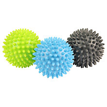 Buy Yoga-Mad Spikey Massage Ball, Set of 3 Online at johnlewis.com