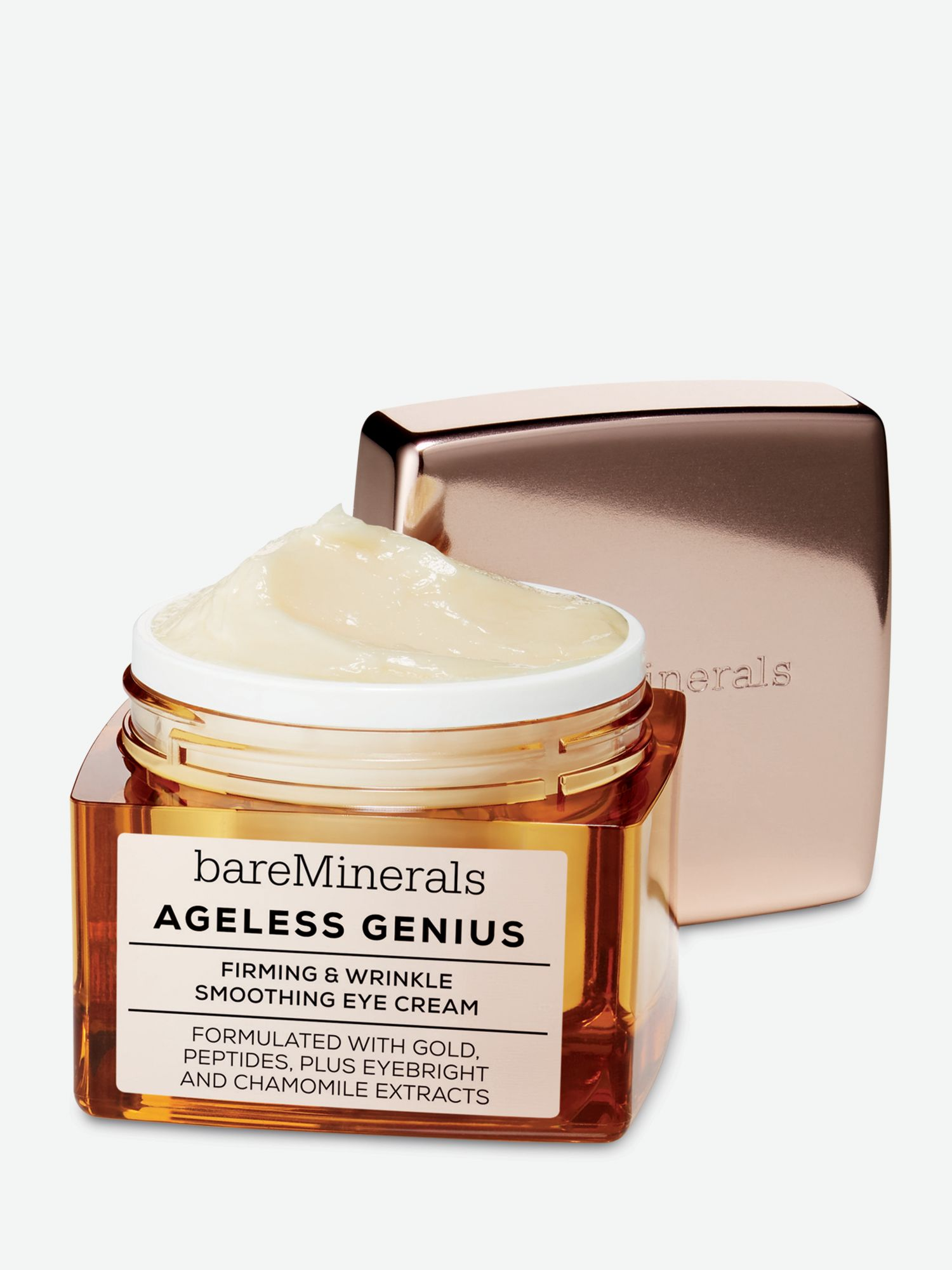 3d663a381be0 bareMinerals Ageless Genius Firming   Wrinkle Smoothing Eye Cream at John  Lewis   Partners