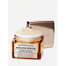 Buy bareMinerals Ageless Genius Firming & Wrinkle Smoothing Eye Cream Online at johnlewis.com