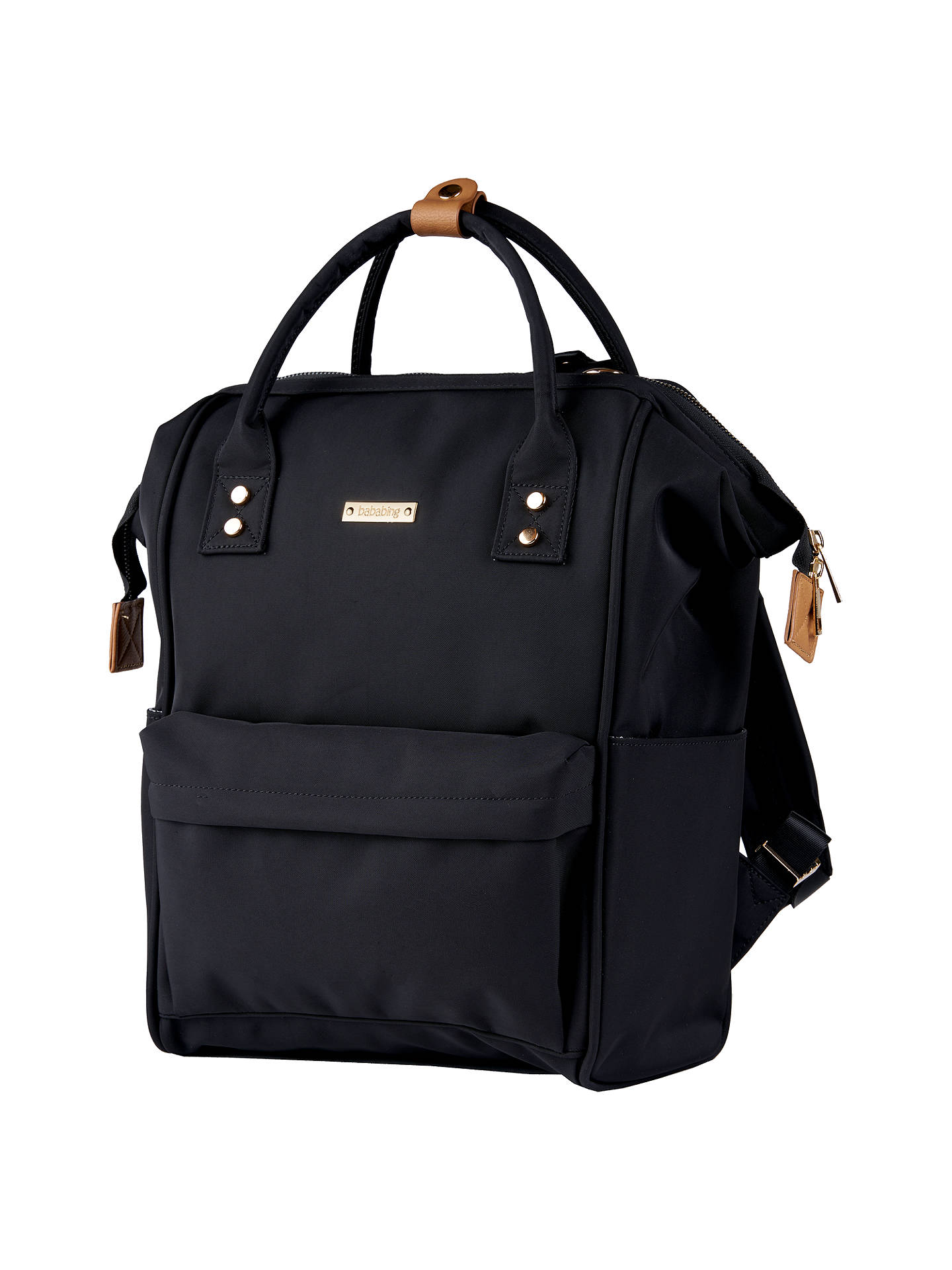 Buy BabaBing! Mani Changing Backpack, Black Online at johnlewis.com