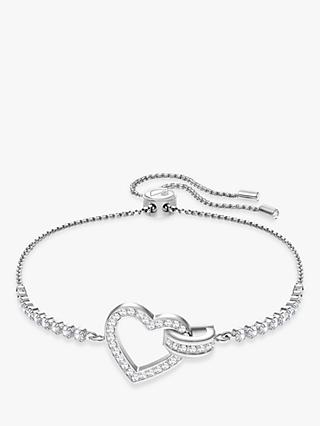 Swarovski Lovely Crystal Heart Bracelet