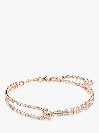 Swarovski Lifel Crystal Knot Bangle