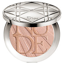 Buy Dior Diorskin Nude Air Luminizer Glow Addict Powder, 002 Holo Gold Online at johnlewis.com