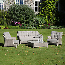 Buy 4 Seasons Outdoor Valentine Low Back 4 Seater Lounge Set Online at johnlewis.com