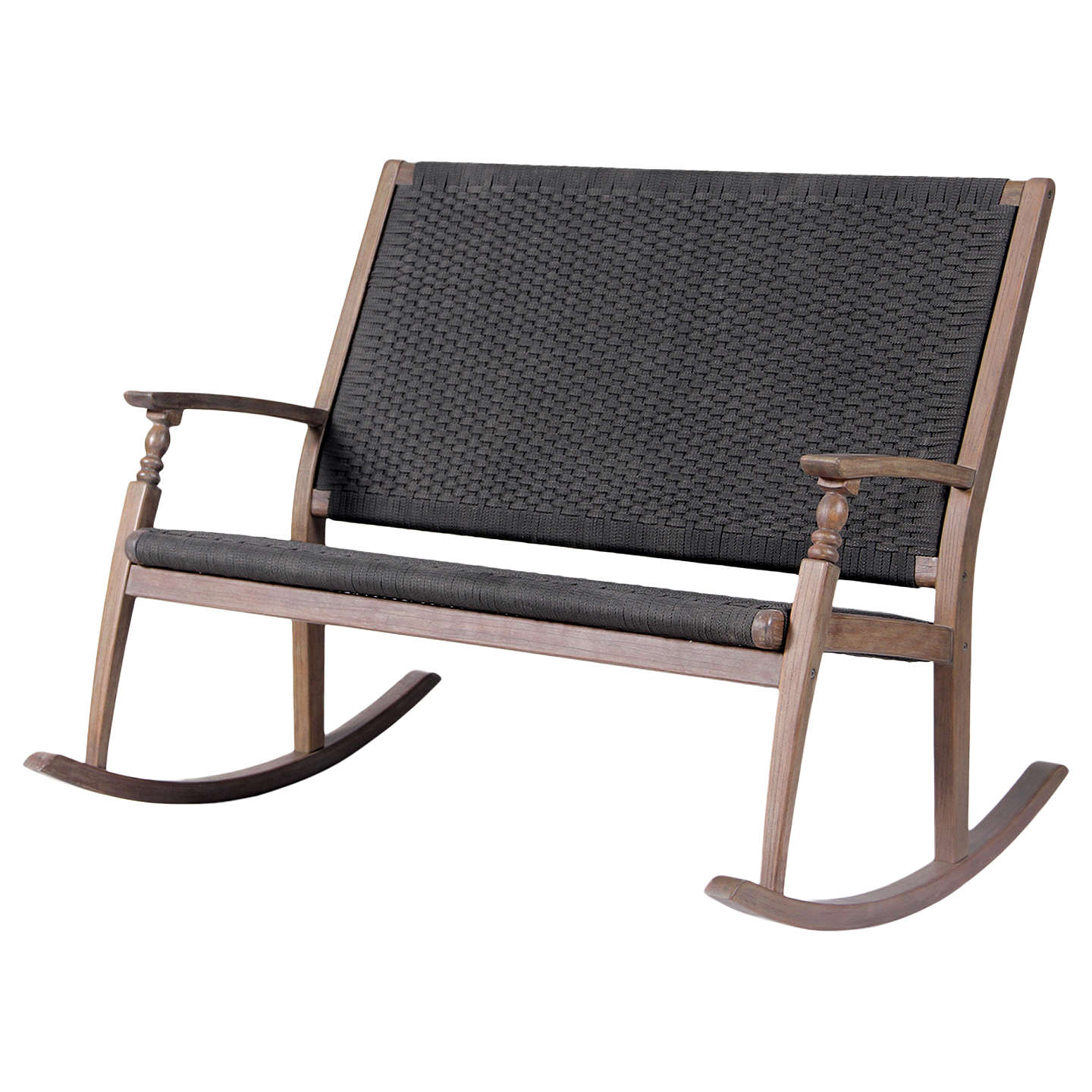 BuyLG Outdoor Panama Double Rocker Chair, FSC Certified (Acacia Wood)  Online At ...
