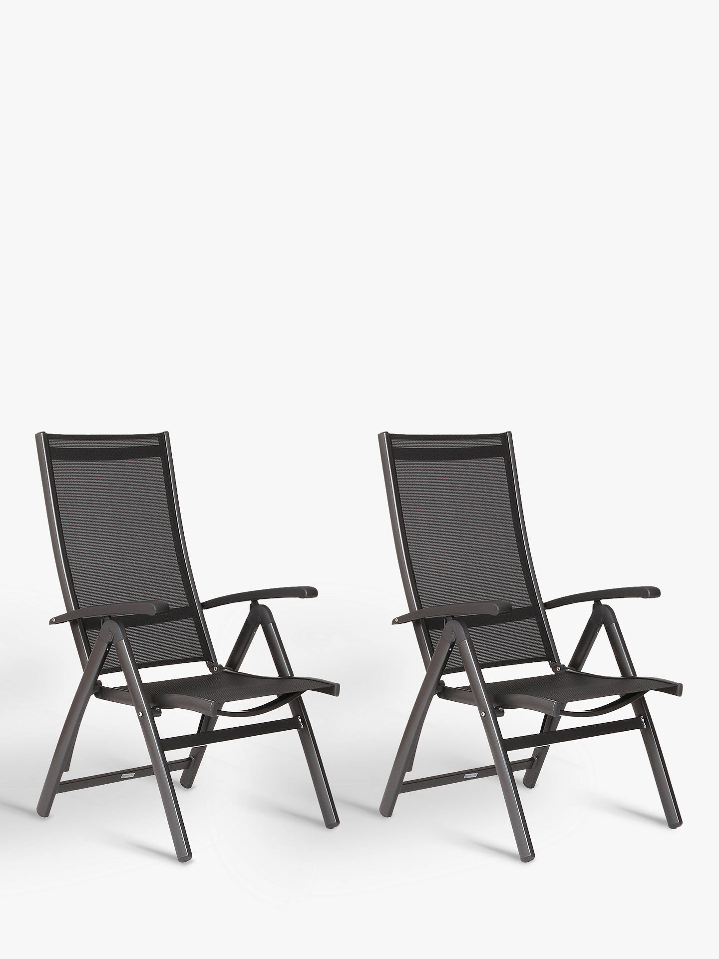 Admirable Kettler Surf Multi Position Reclining Sun Loungers Grey Set Of 2 Caraccident5 Cool Chair Designs And Ideas Caraccident5Info