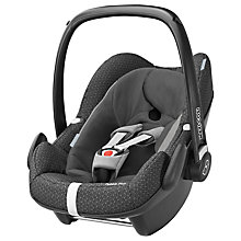 Buy Maxi-Cosi Pebble Plus i-Size Group 0+ Baby Car Seat, Black Crystal Online at johnlewis.com