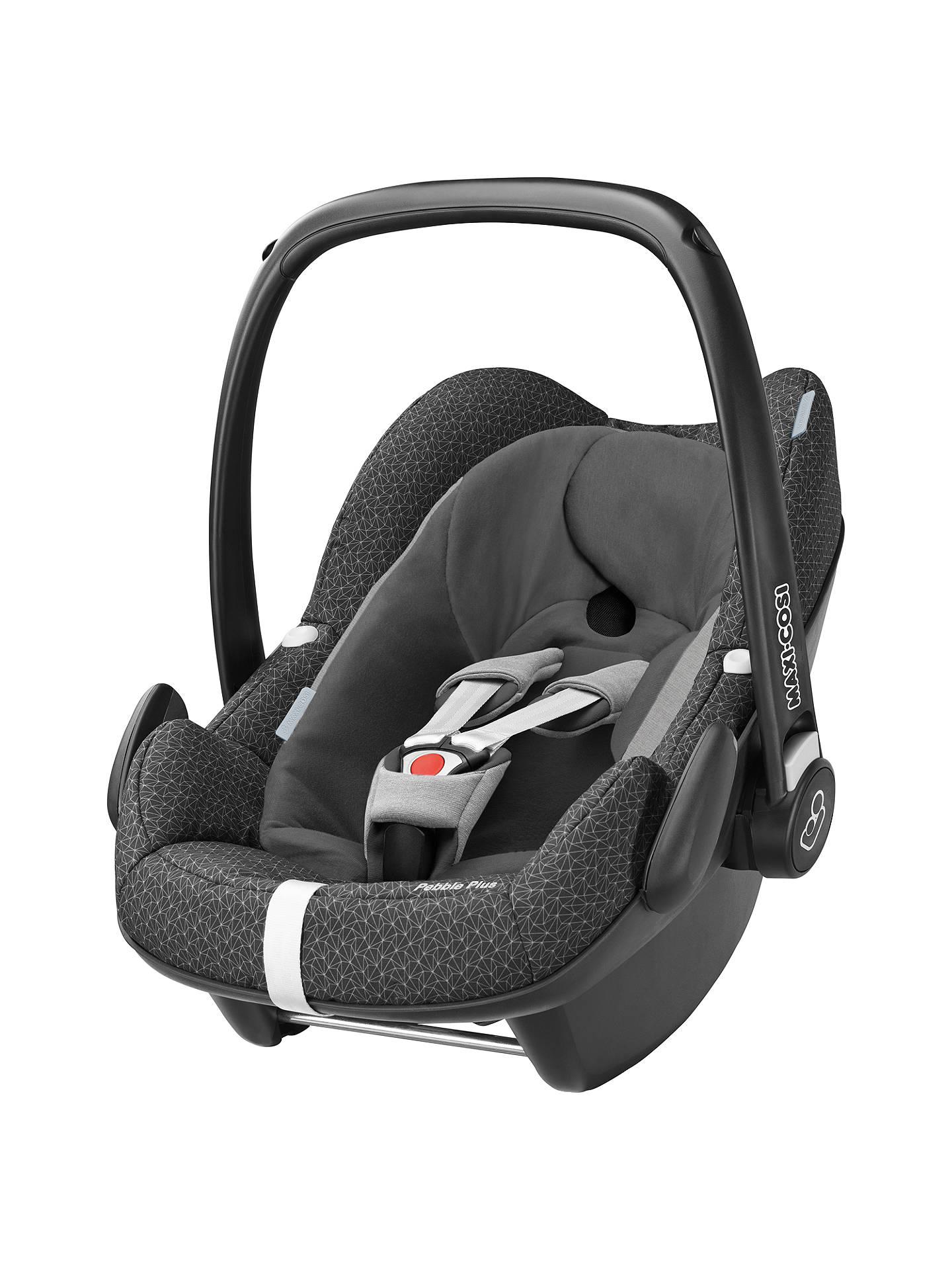 Maxi-Cosi Pebble Plus i-Size Group 0+ Baby Car Seat, Black ...