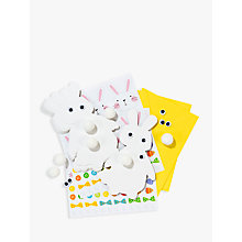 Buy Talking Tables Hop To It Easter Card Kit Online at johnlewis.com