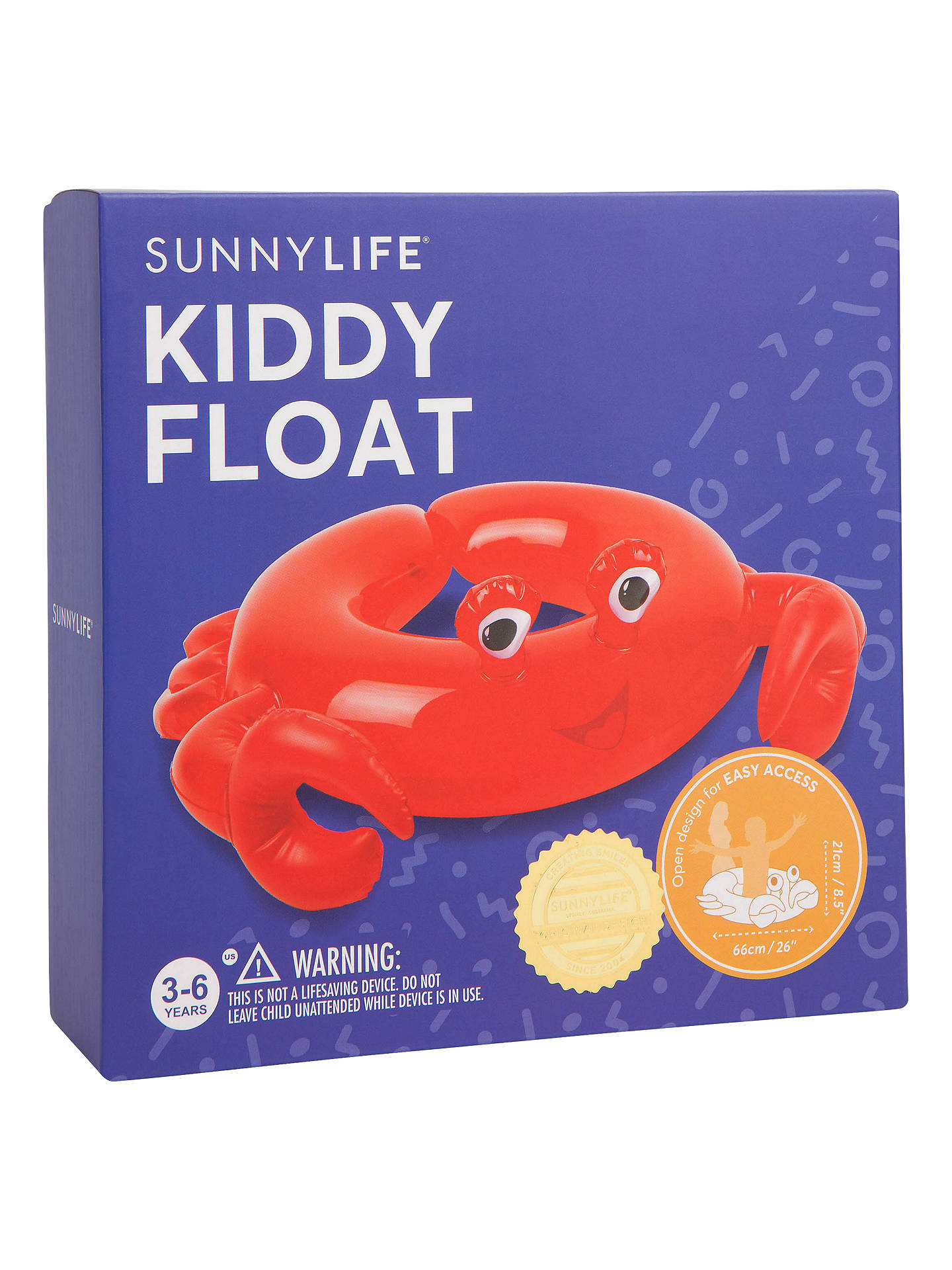 Buy Sunnylife Crabby Kiddy Inflatable Online at johnlewis.com