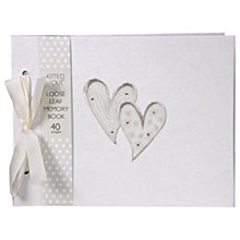 Buy Deva Designs Double Heart Memory Book Online at johnlewis.com
