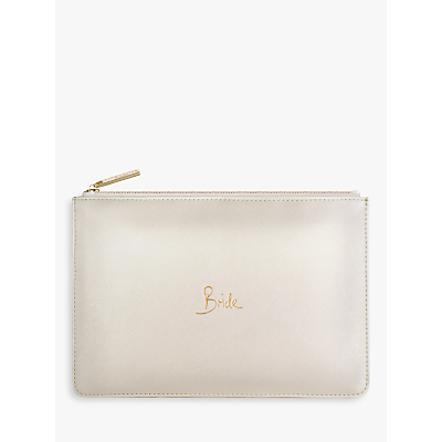 Katie Loxton 'Bride' Perfect Pouch, Light Pink