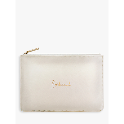Katie Loxton 'Bridesmaid' Perfect Pouch, Blush