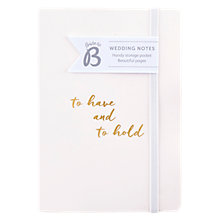 Buy Busy B To Have And To Hold Notebook, Pink Online at johnlewis.com
