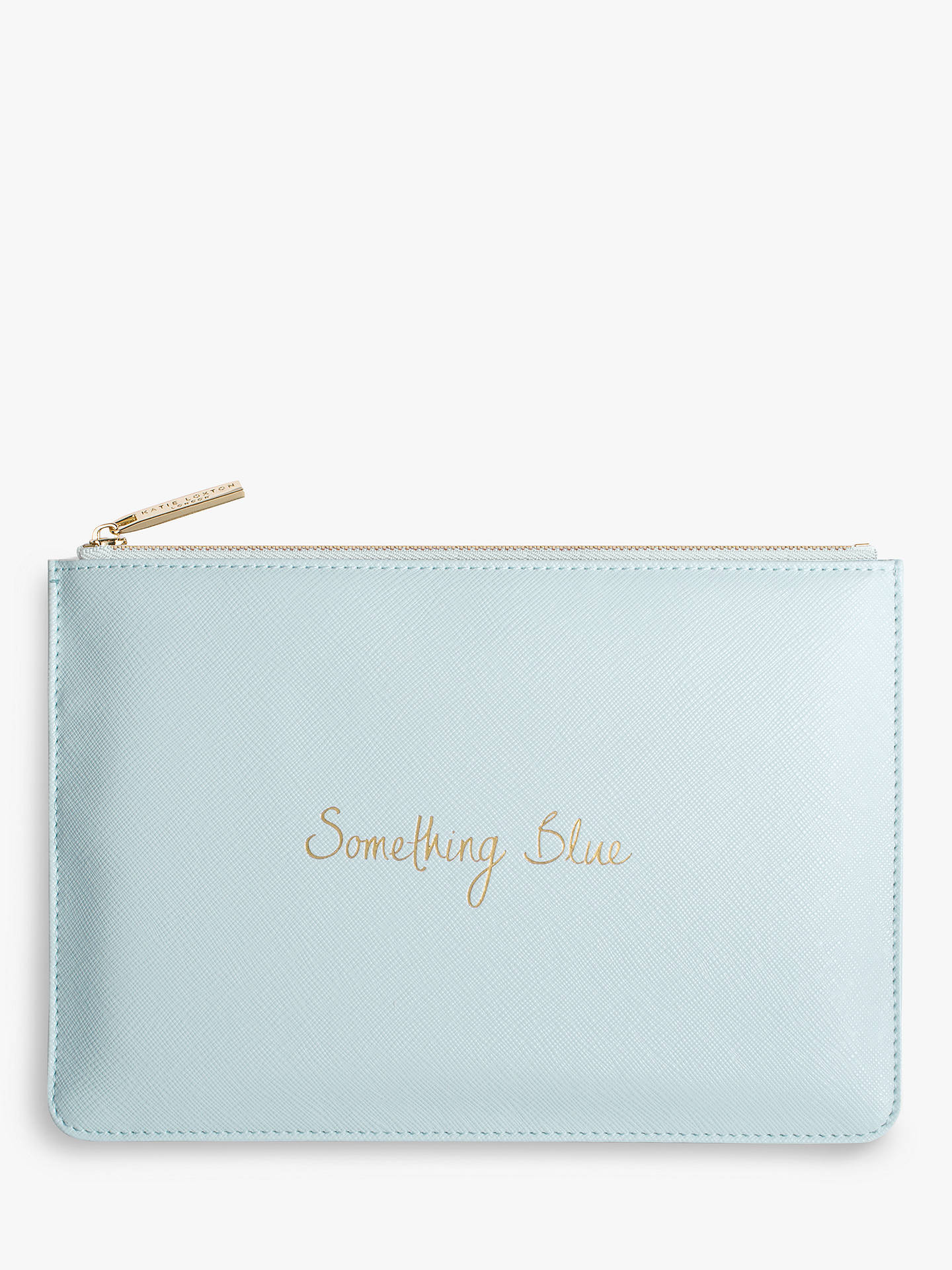 26bc9fab6 Buy Katie Loxton 'Something Blue' Perfect Pouch, Blue Online at johnlewis.  ...