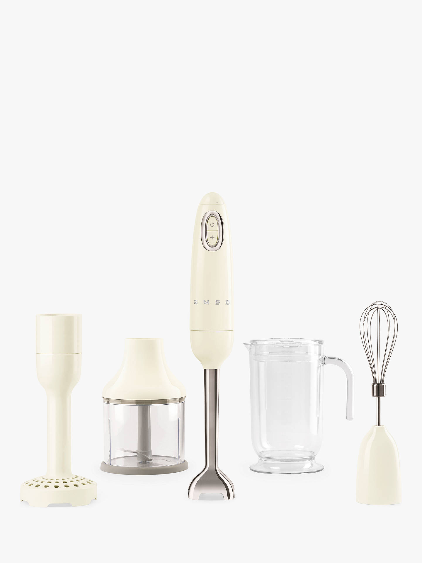Buy Smeg HBF02CRUK 50's Retro Style Hand Blender, Cream Online at johnlewis.com