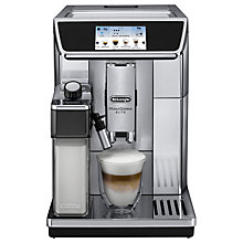 Buy De'Longhi Prima Donna Elite Bean-to-Cup Coffee Machine, Silver Online at johnlewis.com