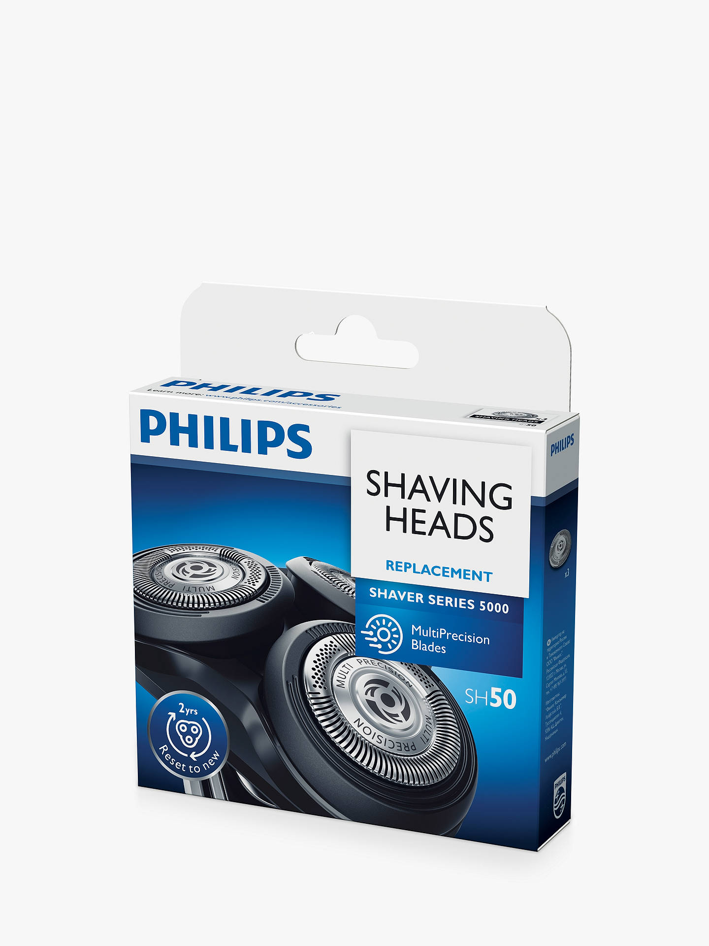 BuyPhilips SH50/50 Series 5000 Shaving Heads Online at johnlewis.com