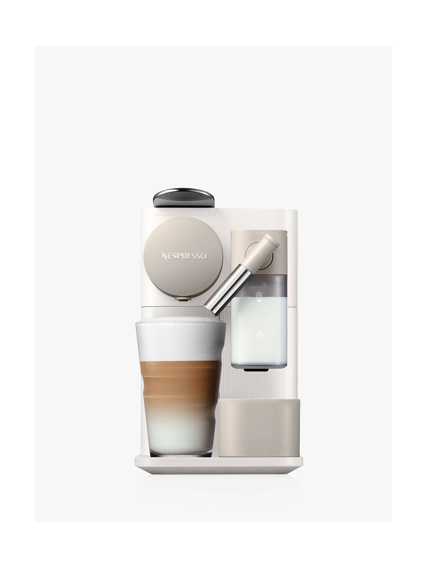 Nespresso Lattissima One Coffee Machine At John Lewis Partners