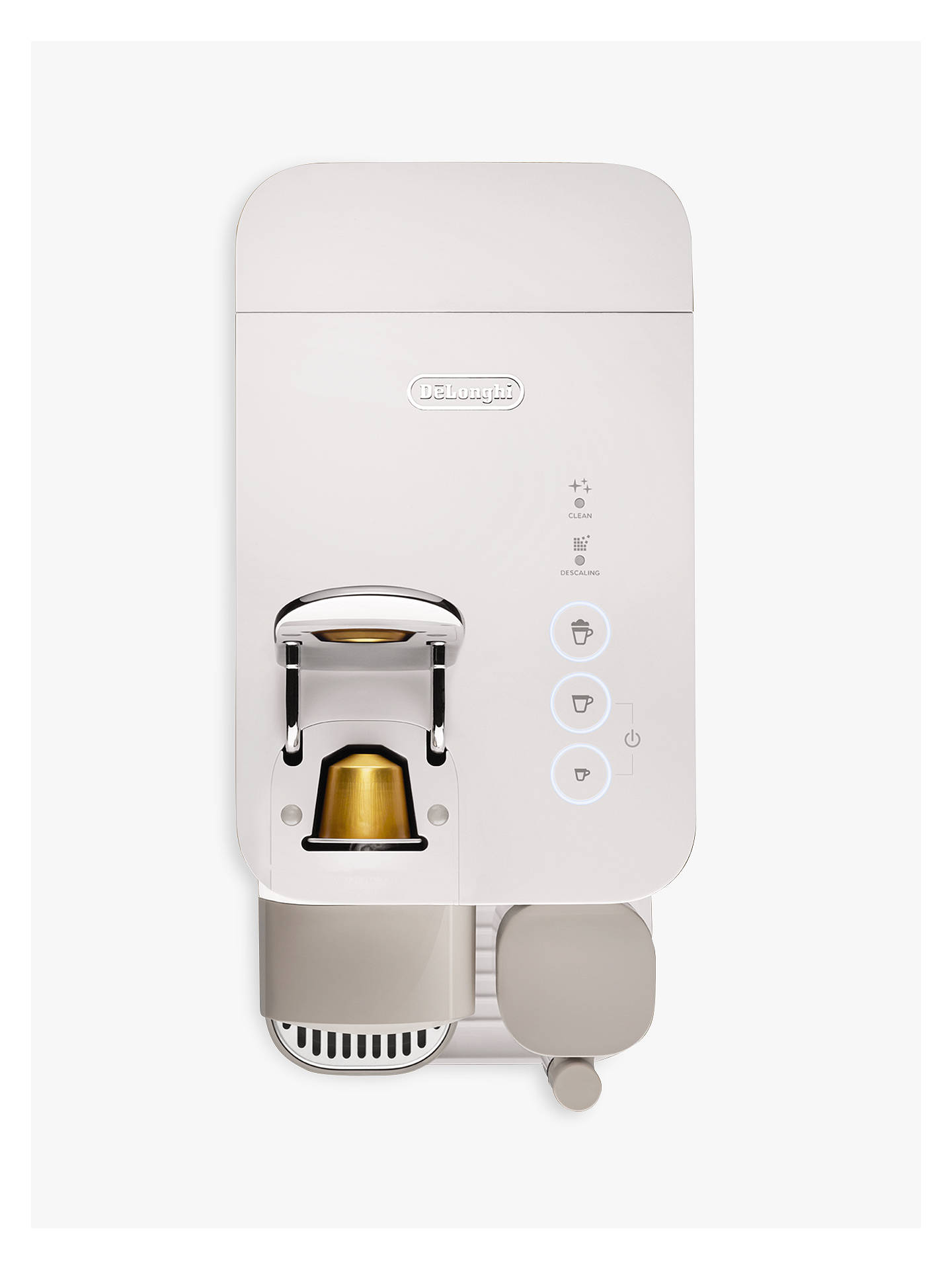 Buy Nespresso Lattissima One Coffee Machine, White Online at johnlewis.com