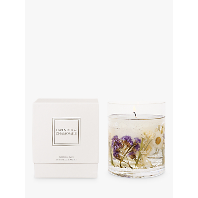 Stoneglow Lavender & Chamomile Scented Gel Candle