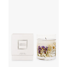 Buy Stoneglow Lavender & Chamomile Scented Gel Candle Online at johnlewis.com