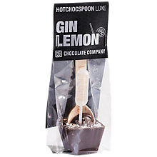 Buy Chocolate Company Hot Choc Spoon, Gin Lemon Online at johnlewis.com