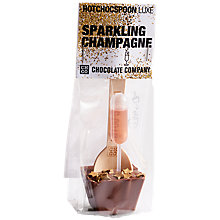 Buy Chocolate Company Hot Choc Spoon, Sparkling Champagne Online at johnlewis.com
