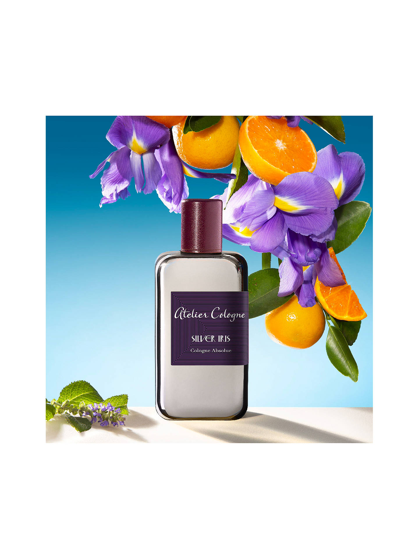 Buy Atelier Cologne Silver Iris Cologne Absolue, 200ml Online at johnlewis.com