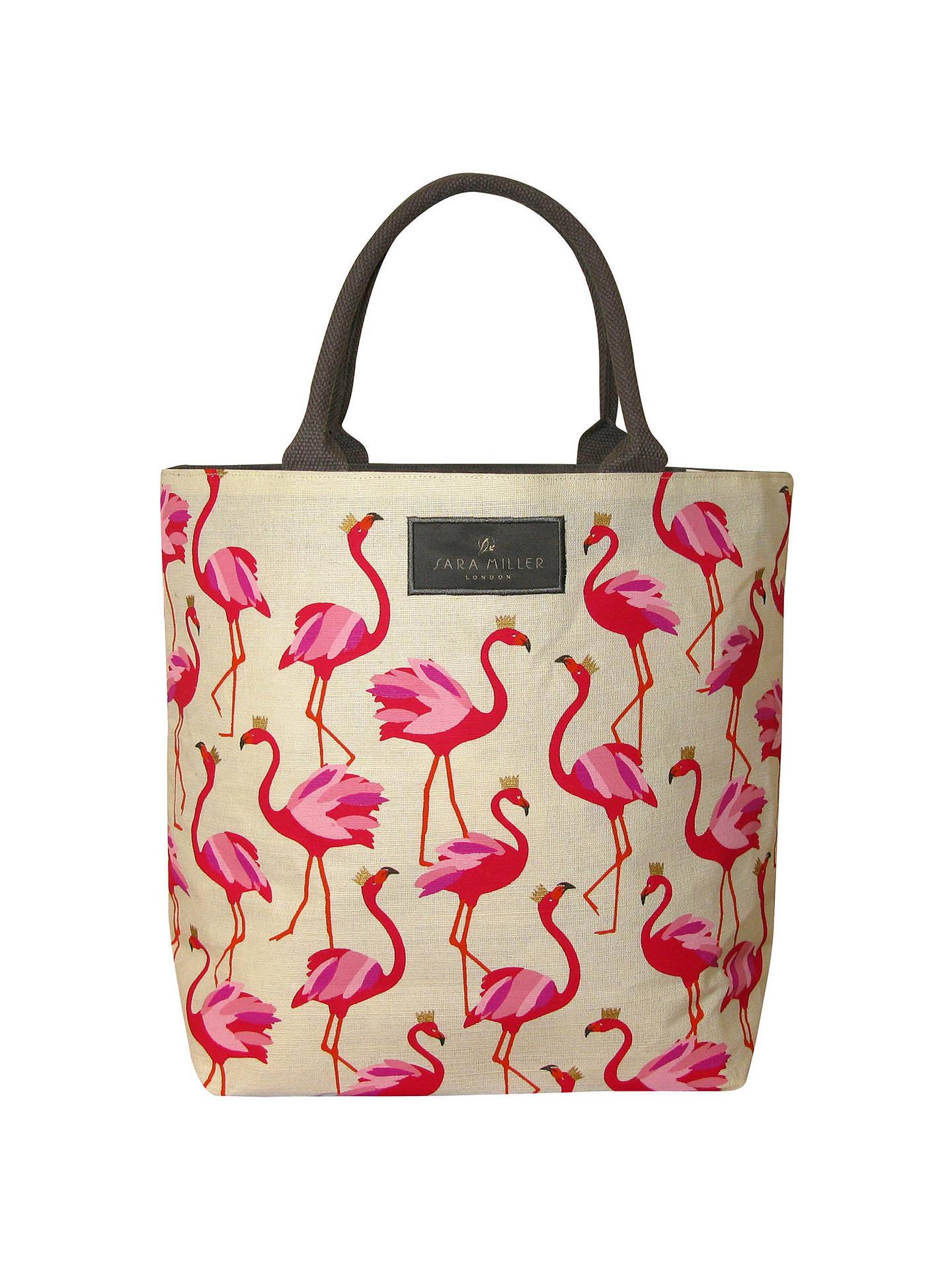 ae4281b6659d ... BuySara Miller Flamingo Tote Bag